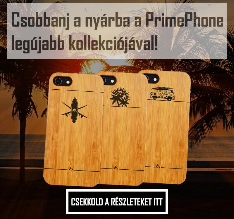 Stílusos megjelenésű prémium minőségű fa iPhone tok - PrimePhone 380845add7